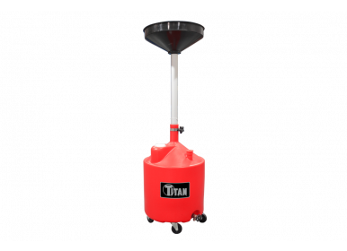 Titan 18 Gallon Adjustable Waste Oil Drain
