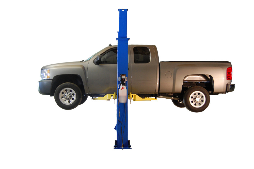 2 post car lift installation instructions