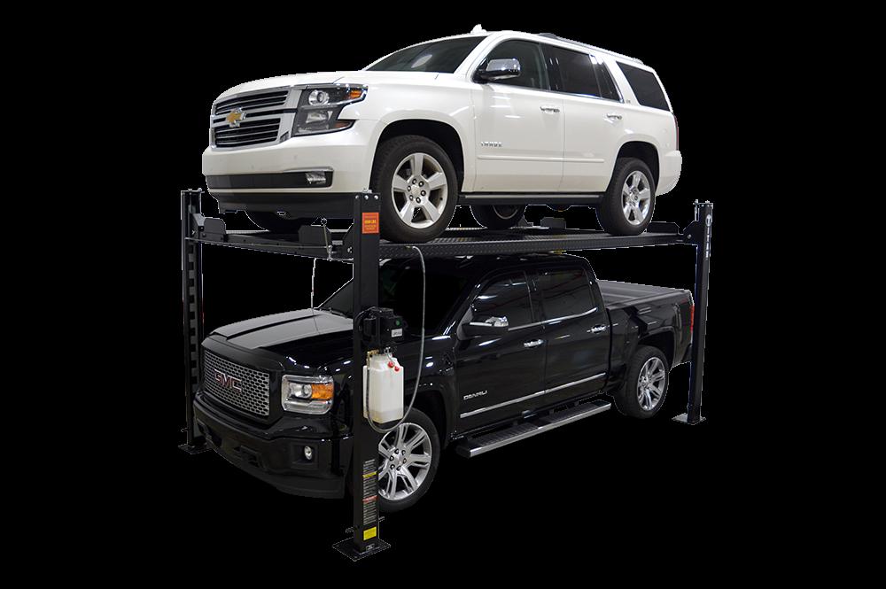 Casters Drip Trays Jack Tray 4-Post Auto Lift w// Ramps New Titan 8,000 lbs