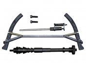 Deluxe Wheel Balancer Motorcycle/ATV Adapter - 350 Series